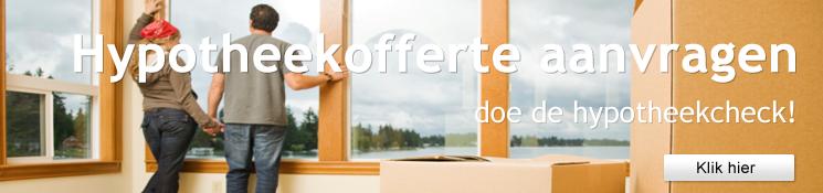 Vraag vrijblijvend hypotheekofferte aan